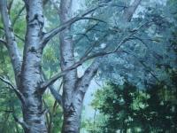 """Парк"", 20х30, холст, масло, 2006 г."