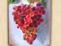 """""""The grapes"""", Oil on wood 2015"""