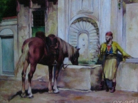 "ALBERTO PASINI - ""At the Well"""