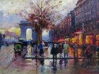 "Edouard Leon Cortes - ""Champs Elysees Lido"""