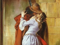 "Estilo Francesco Hayez - ""The Kiss Speedpaint"""