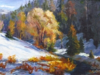 "Kathryn Stats - ""Big Cottonwood Winter"""
