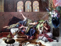 "Rudolf Ernst-""In The Harem"""