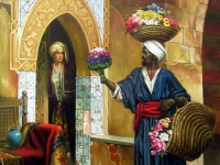 "Rudolf Ernst-""The Flower Seller"""