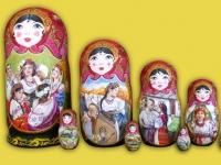 """m-47 """"Украинские напевы"""" 2016г.,  10 мест, темпера"""