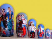 """m-70 """"Украинский танец-3"""" 2019 г.,, 7 мест, темпера"""