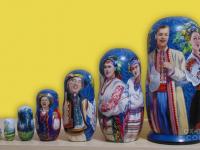 """m-72-b """"Украинская-песня"""" 2019 г., вторая сторона, 7 мест, темпера"""